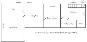 Two Bedroom Apartment Configuration