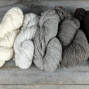 Yarn in Natural Colors